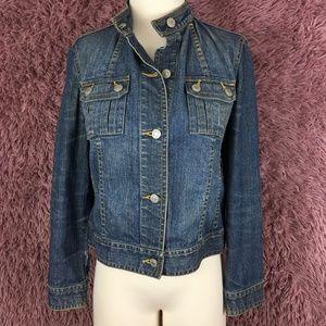 Liz Claiborne Denim Jacket Petite Small